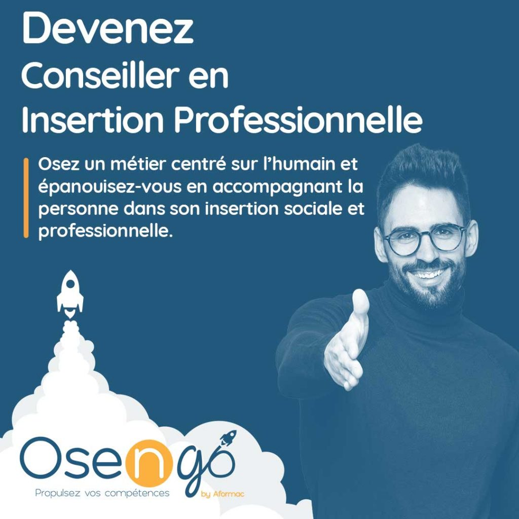 Osengo by Aformac : Formation Conseiller en Insertion Professionnelle en alternance / apprentissage