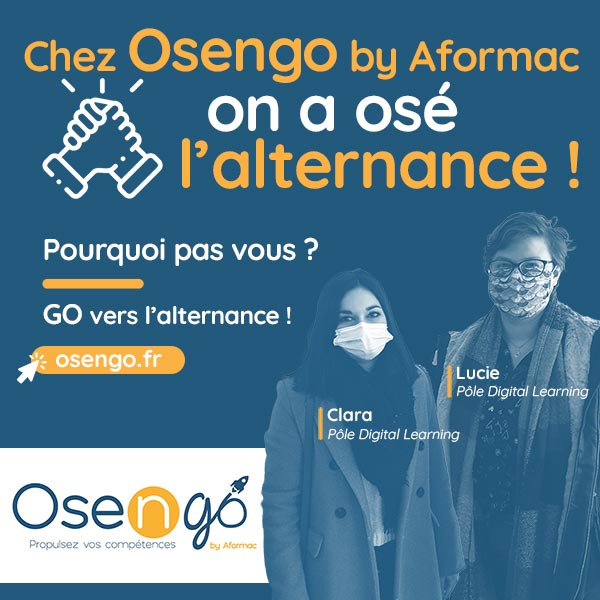 Chez Osengo, on ose l'alternance !